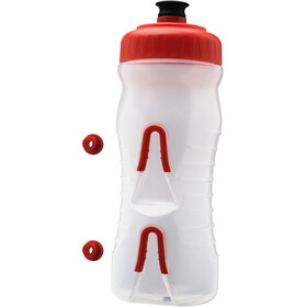 Fabric Cageless Bottle 600ml, red